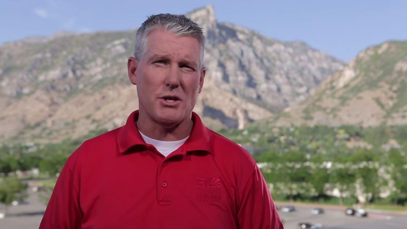 Jeff, a public safety professional with Salt Lake County